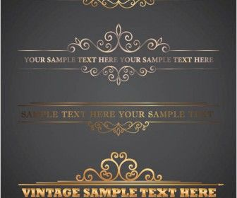 Ornate letterhead vector - vectorgraphicsblog.com