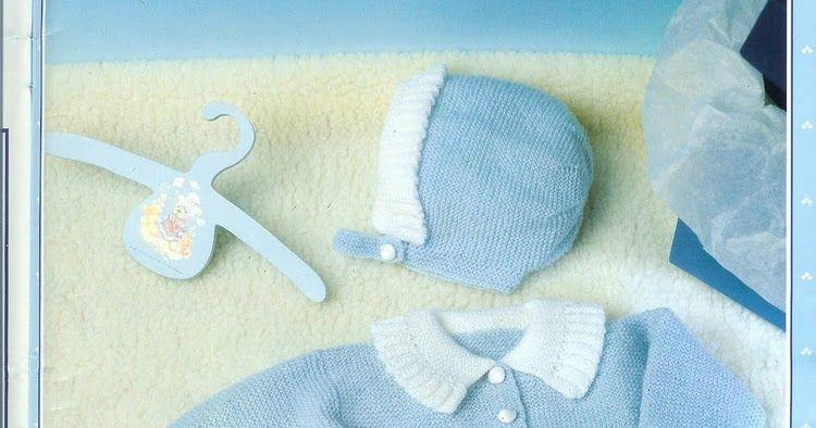 Manetes d\'Or: Chaquetitas de punto para bebés. Patrones | Rebecas ...