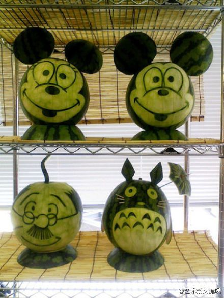 the art of watermelons
