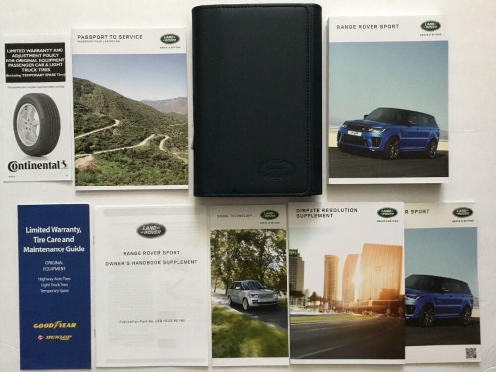 Advertisement eBay) 2018 Land Range Rover Sport HSE