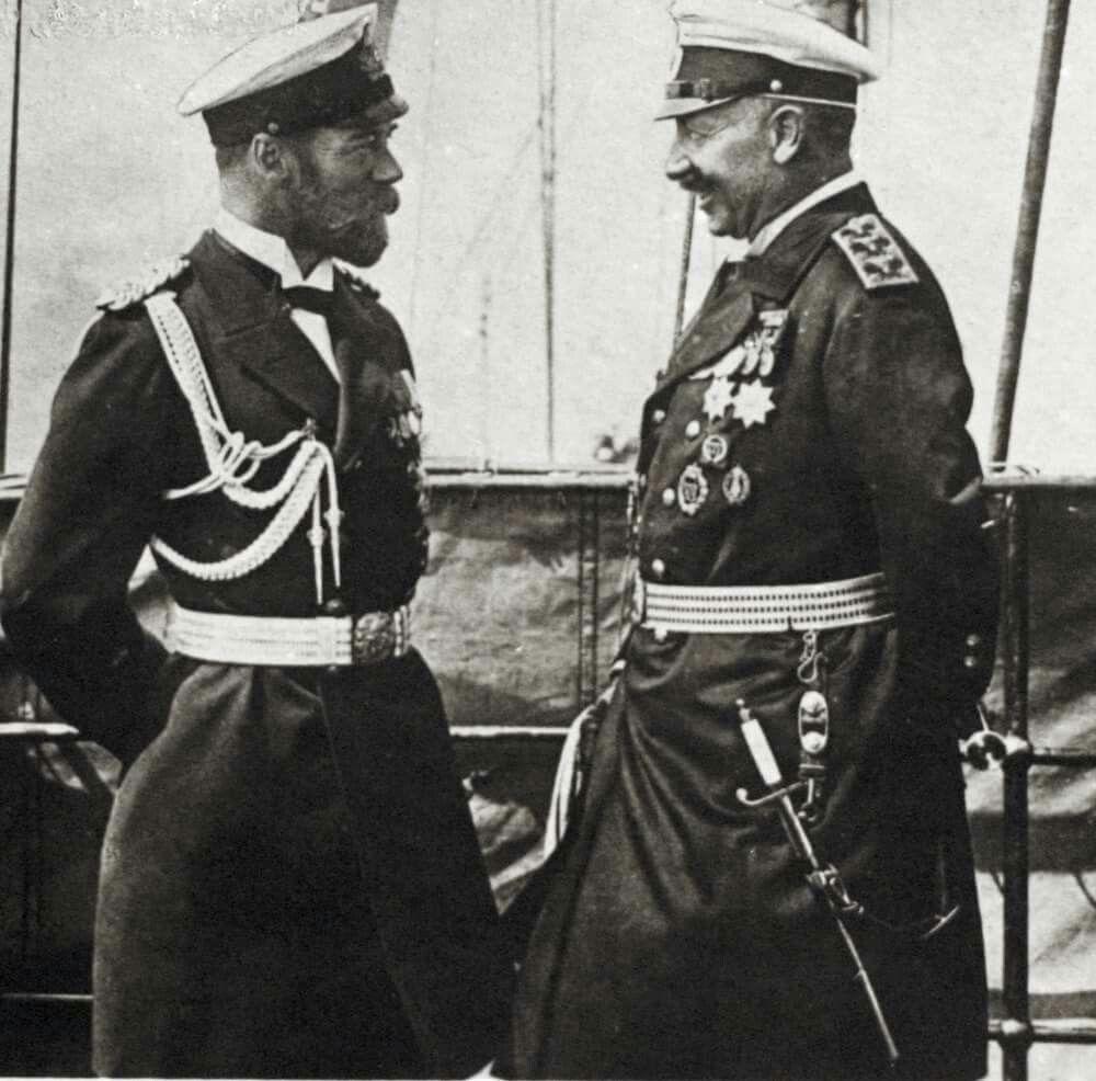 relationship between wilhelm ii and nicholas czar