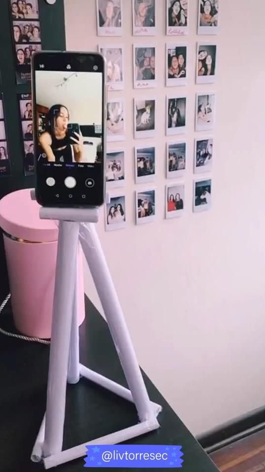 HOW TO MAKE A PAPER TRIPOD? -   diy Projects tumblr