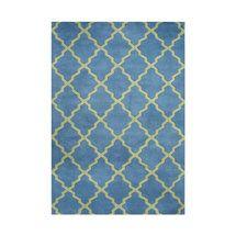 Walmart: Alliyah Rugs Aspen Blue/Green Rug