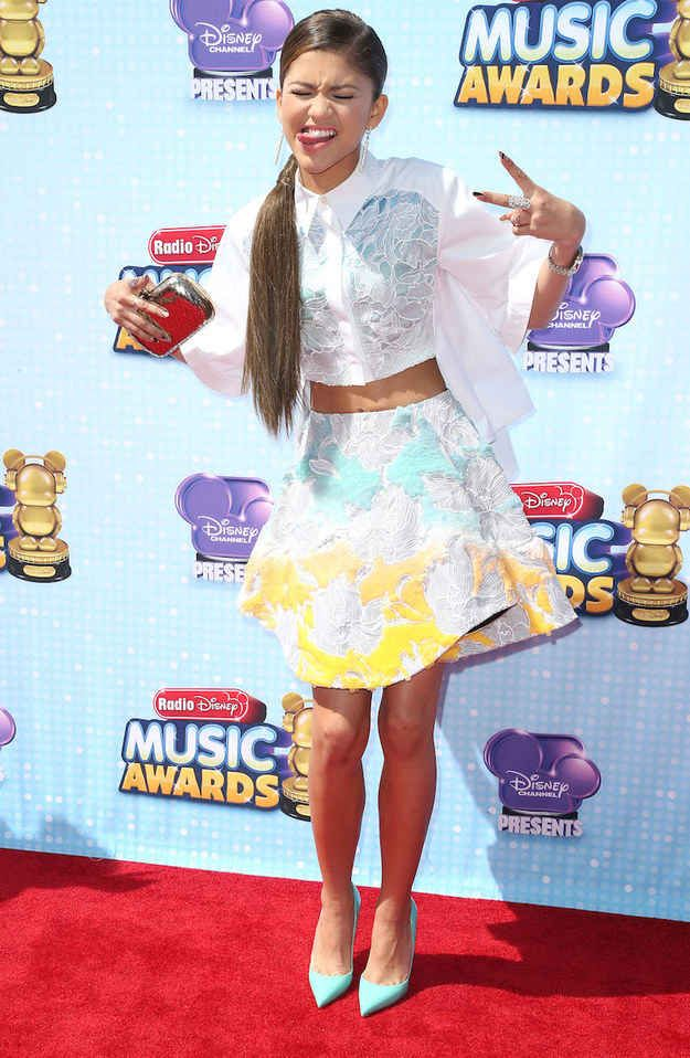 When she showed up to the Radio Disney Music Awards looking 100 times better than any other Disney starlet in history.