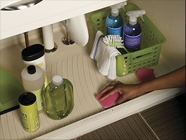 CoreGuard Sink Base U2013 New Products   KraftMaid Cabinetry. Keep The Cabinet  Unit From Getting