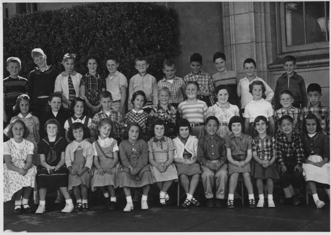 1955 Lafayette Elementary School San Francisco, CA. I am in the top row,