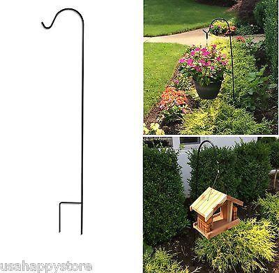 Hanging Plant Basket Stand Holder Hook Planter Outdoor Garden Decorations  Flower