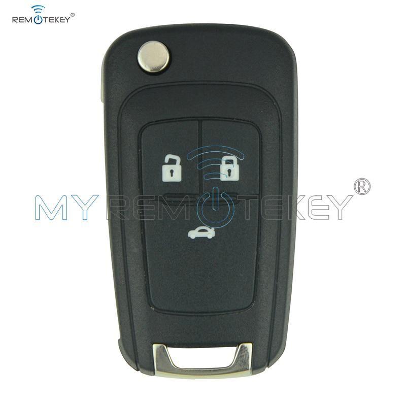Flip Remote Car Key For Chevrolet Aveo Cruze Orlando 2011 2012