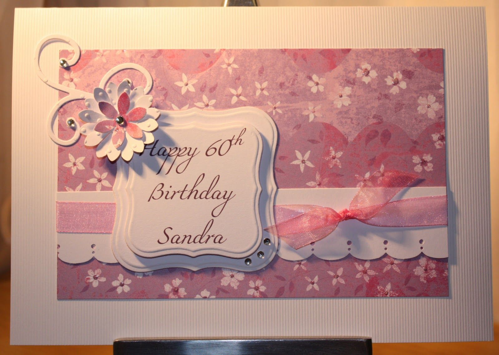 Pintrest Handmade Birthday Card Ideas 60th Birthday A 50th