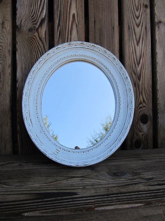 Hey, I found this really awesome Etsy listing at http://www.etsy.com/listing/108100639/shabby-chic-white-ornate-wall-mirror