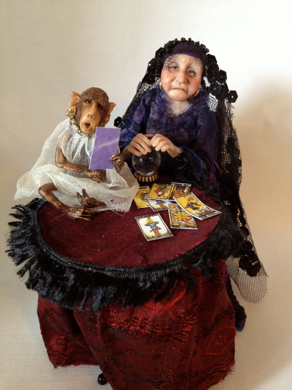 12th Scale Miniature Doll Helspeth The Fortune by giddykipper95