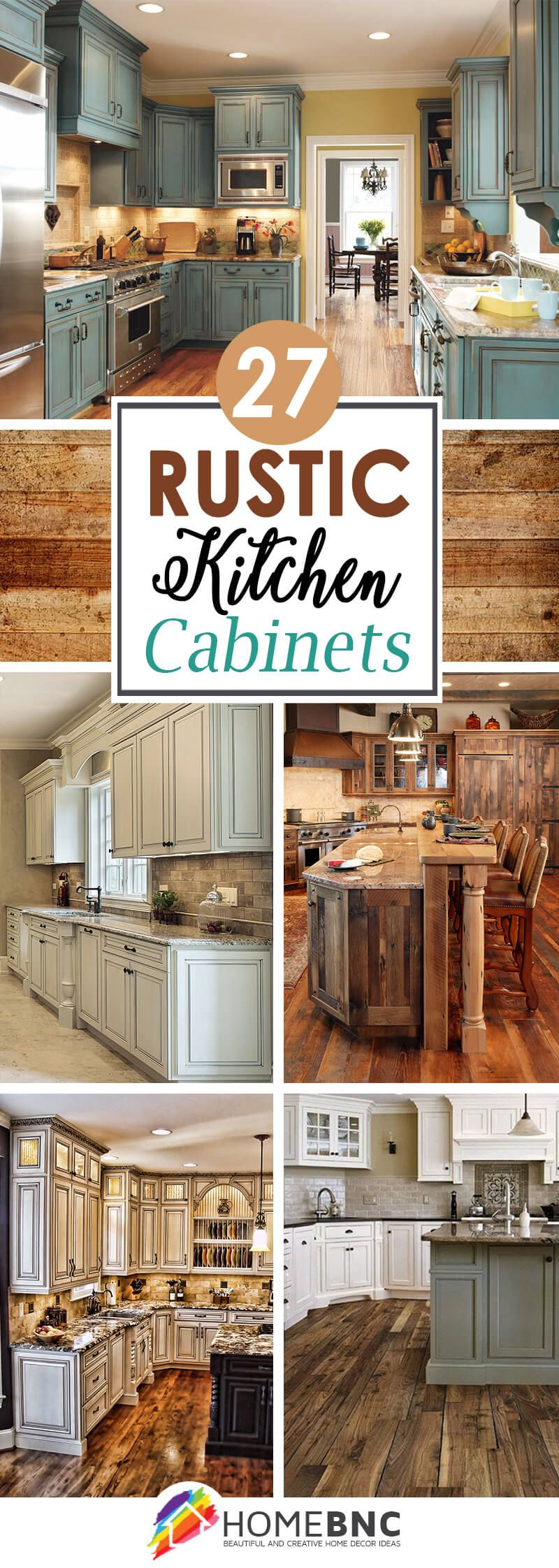 Rustic Kitchen Cabinet Ideas 27 Cabinets for