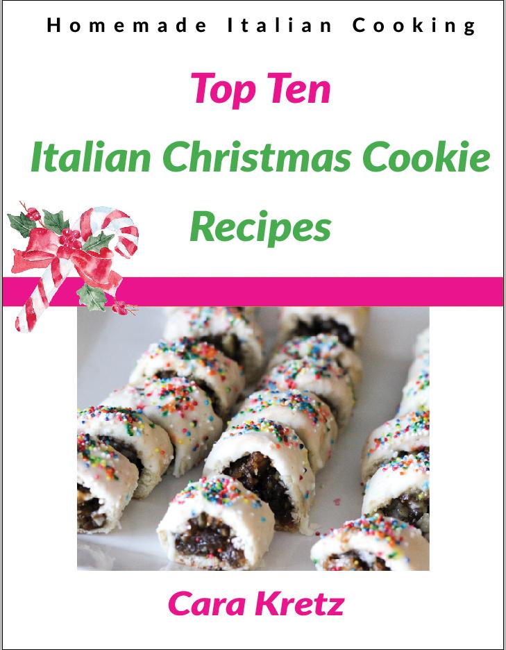 free e book top ten italian christmas cookie recipes - List Italian Christmas Cookies