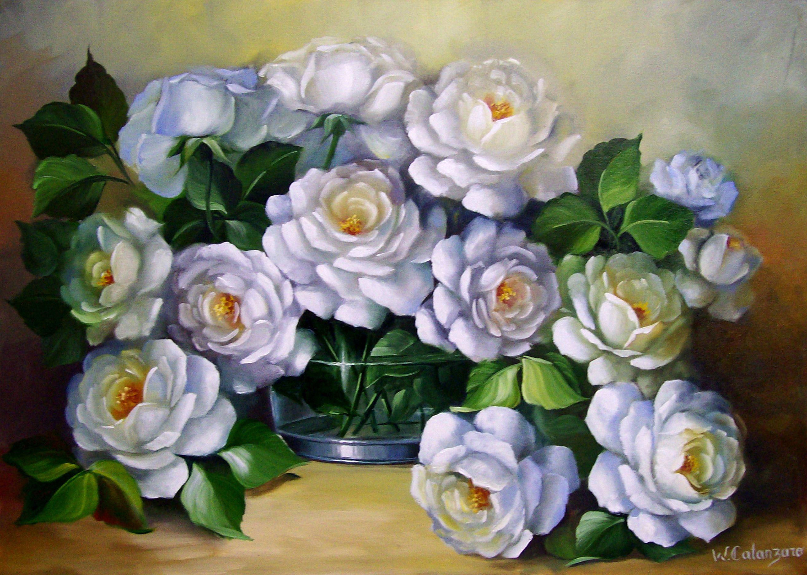 Pintura em tela flores pesquisa google pintura em - Pinturas para pintar tela ...