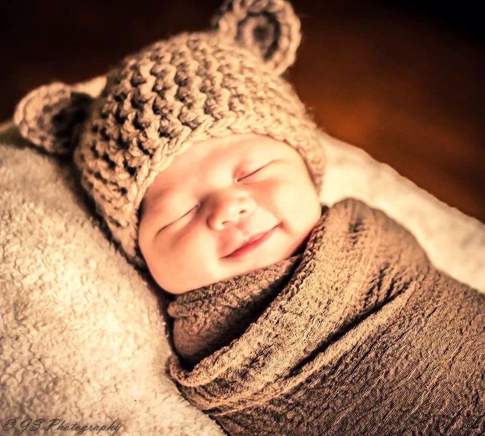 Baby Ben newborn photo , crochet bear hat | Crochet | Pinterest