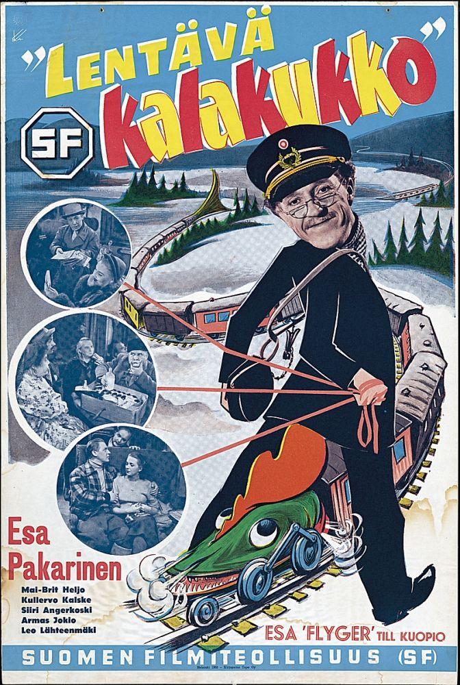 Lentävä kalakukko (1953)