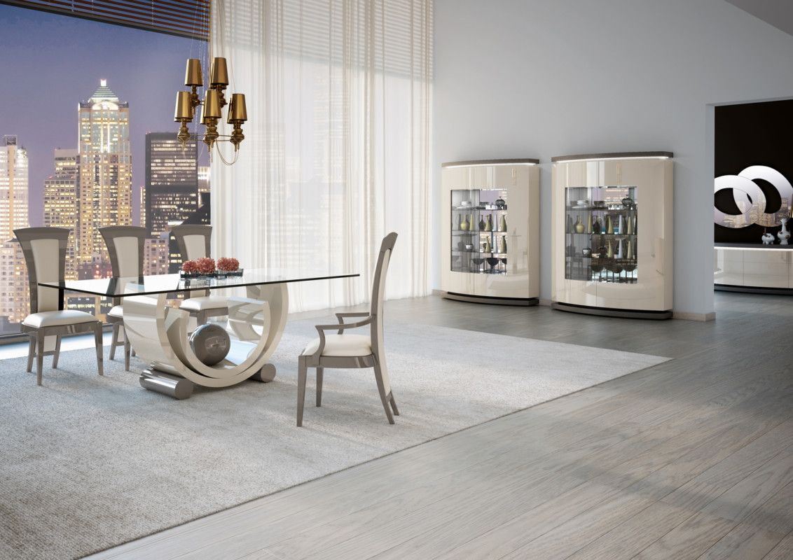 Our Home Nowadays Has Become Our Refuge Both Intimate And Emotional So The Choice Of Furnishings Has Become A Glass Top Dining Table Furniture Dining Table