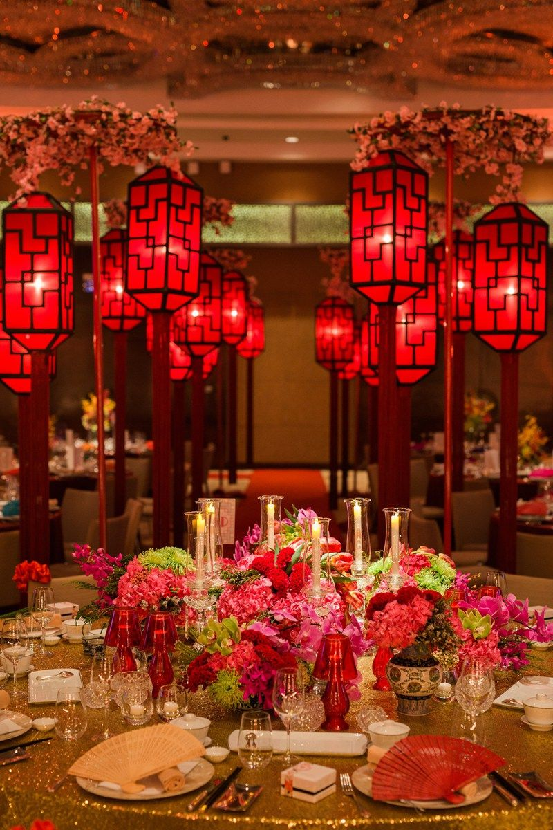 A 1920s old shanghai wedding at grand hyatt kl for Asian wedding decoration