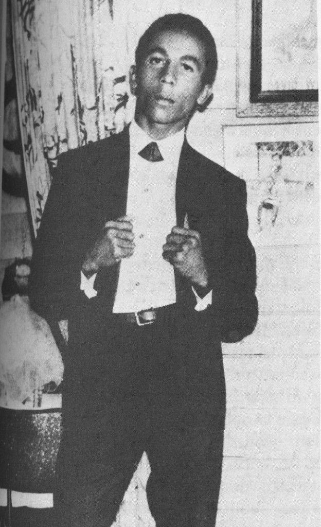 Young Bob Marley (20 years old)