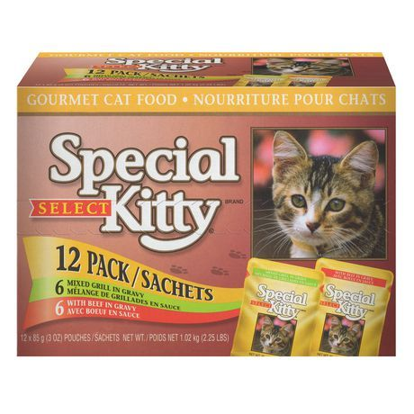 Special Kitty Select Gourmet Cat Food Beef And Mixed