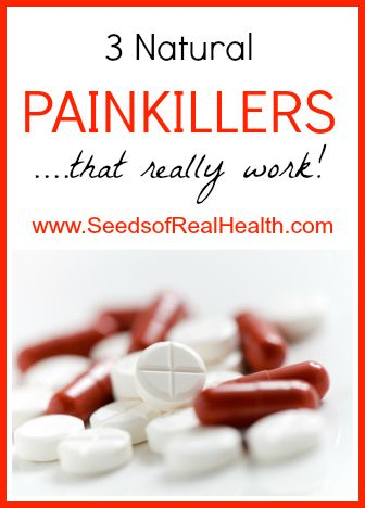 Natural Painkillers - Seeds of Real Health
