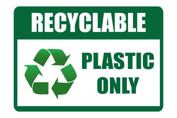 photo relating to Recycle Signs Printable referred to as Printable Recycle Plastic Just Signal Free of charge Printable Indications