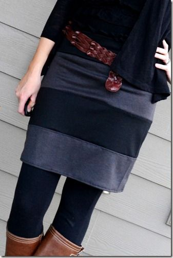 how to make this skirt