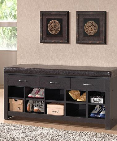 Awesome Entry Way Shoe Storage Bench