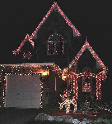 30 Ideas For The Best Outdoor Christmas Decorations On The Block Christmas House Lights Christmas Yard Decorations Outdoor Christmas