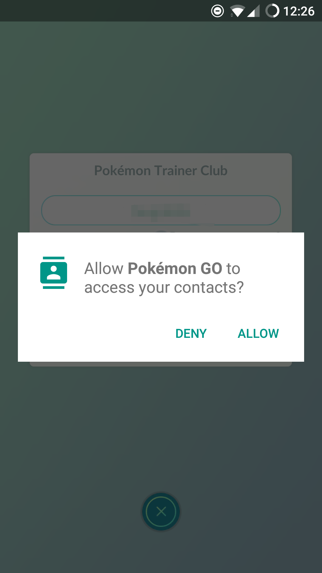[Question] [Screenshot] Why does Pokémon GO need acces to my contacts? (0.73.1)