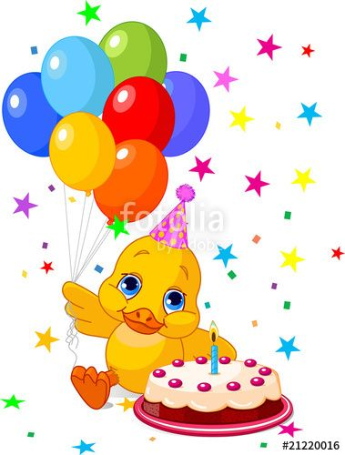 Birthday Decoration Vector