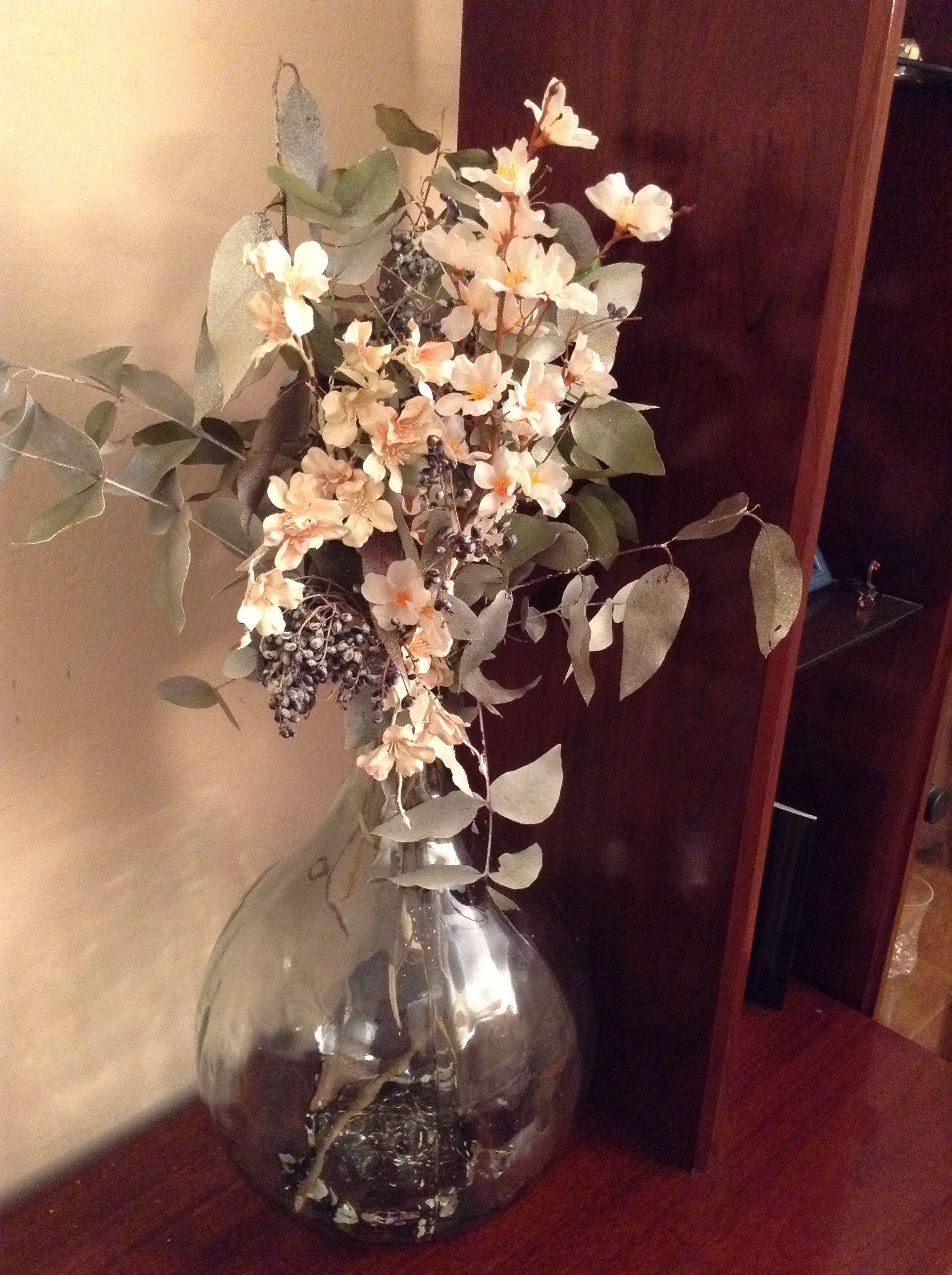 Flores Secas Y Flores Artificiales Grandes Ideas Pinterest - Jarrones-con-flores-secas