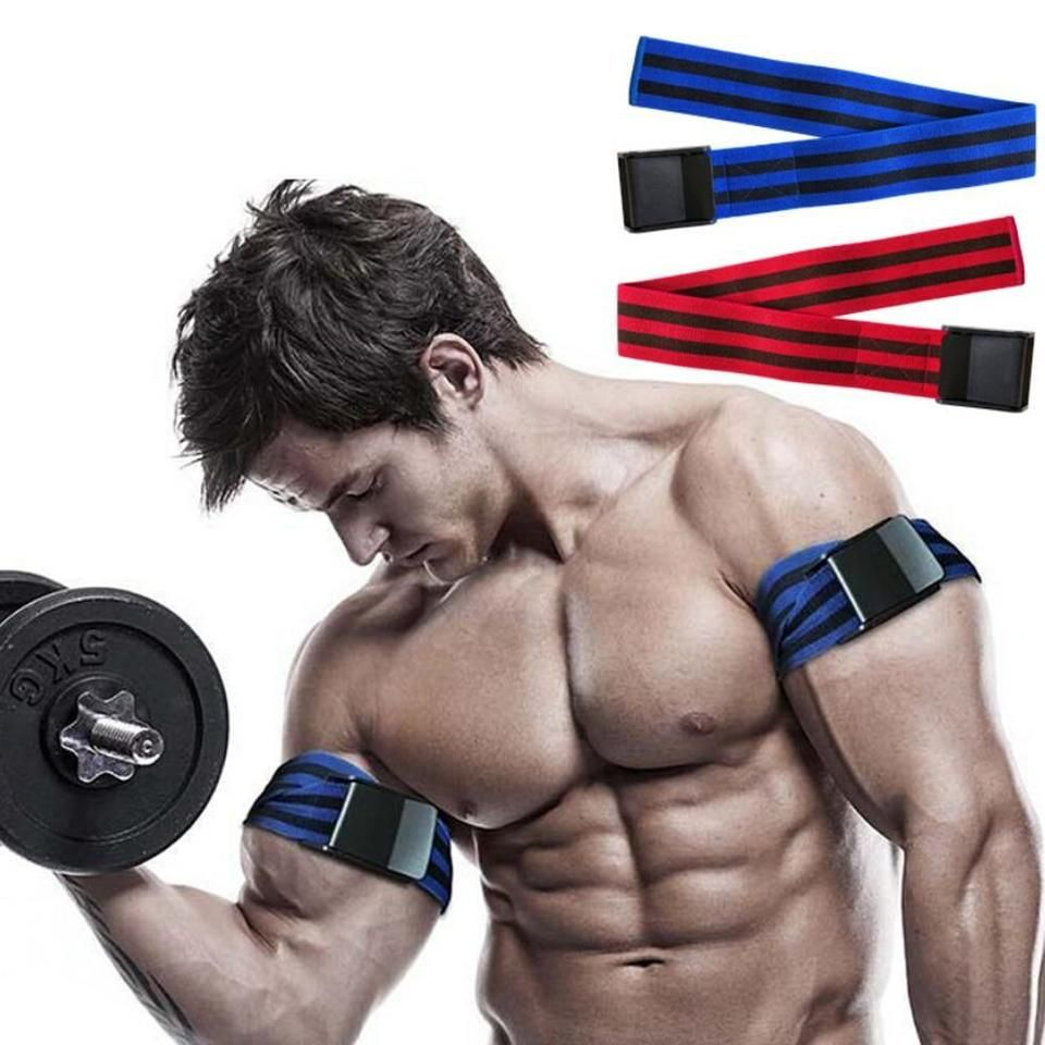 Blood Flow Restriction Bands In 2020 Muscle Fitness Arm Muscles Resistance Workout