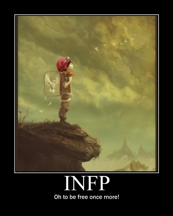INFP~~This Is Exactly How I Feel. Christ Came And Granted
