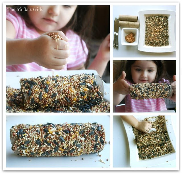 An EASY Bird Feeder Craft!