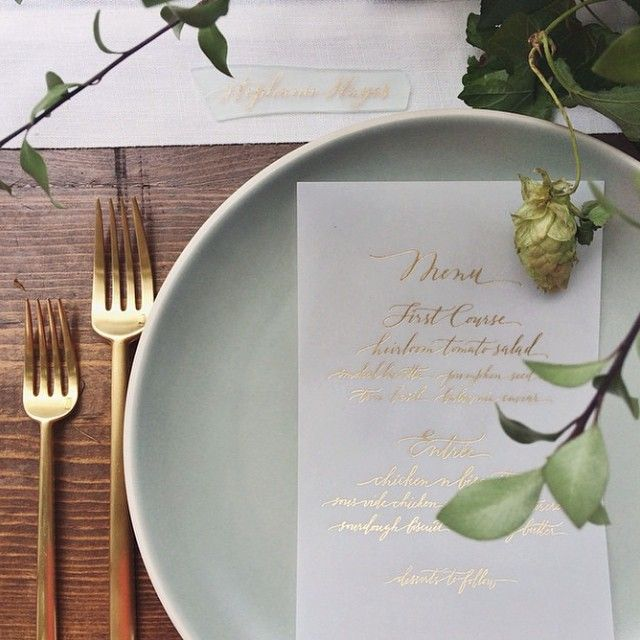 Lovely Earth Tones Wedding By Bash Please // Tableware By