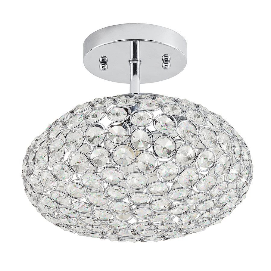 Pictures In Gallery Shop Kichler Lighting Krystal Ice W Chrome Crystal Crystal Semi Flush Mount Light at Lowe us Canada Find our selection of semi flush ceiling lights at the