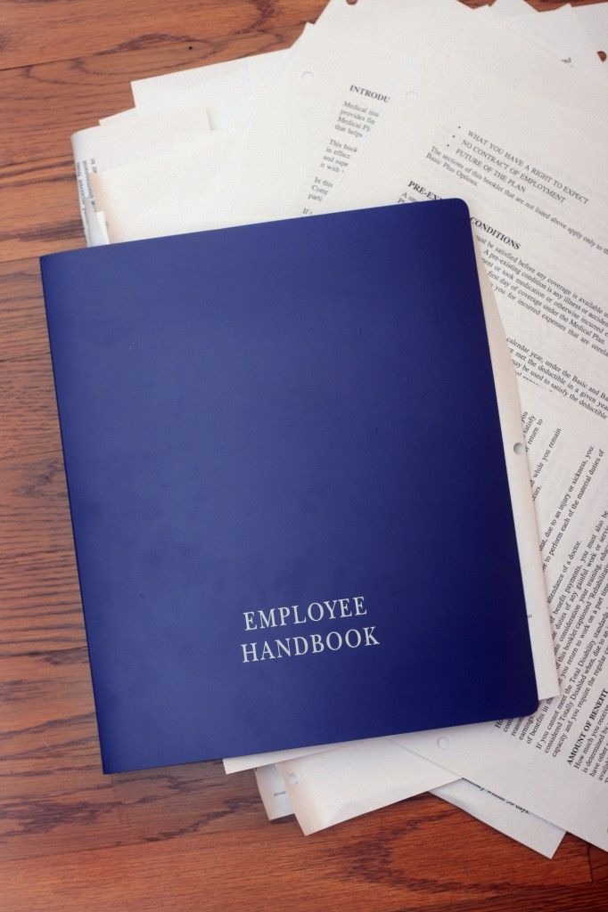 Employee Handbooks  Santora Cpa Group  Employee Handbook  Legal