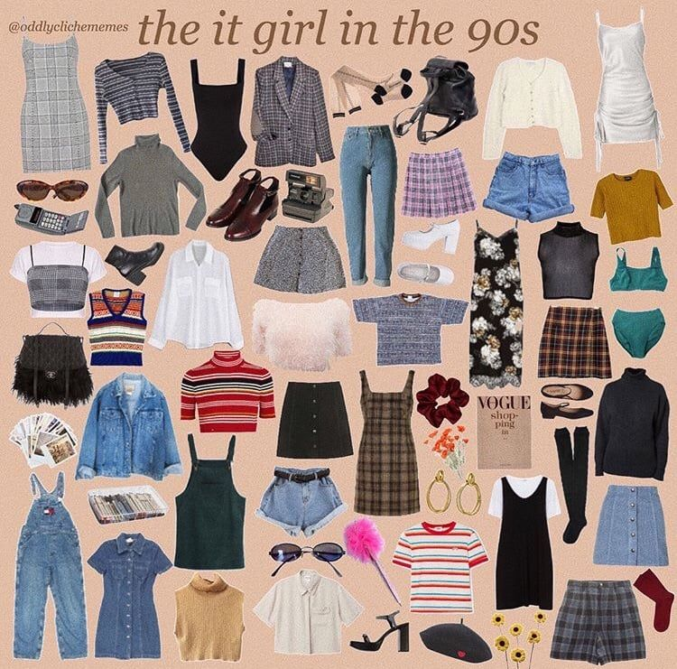 Lookbook By Oddlyclichememes On Ig On We Heart It 90s Fashion Outfits Retro Outfits Vintage Outfits