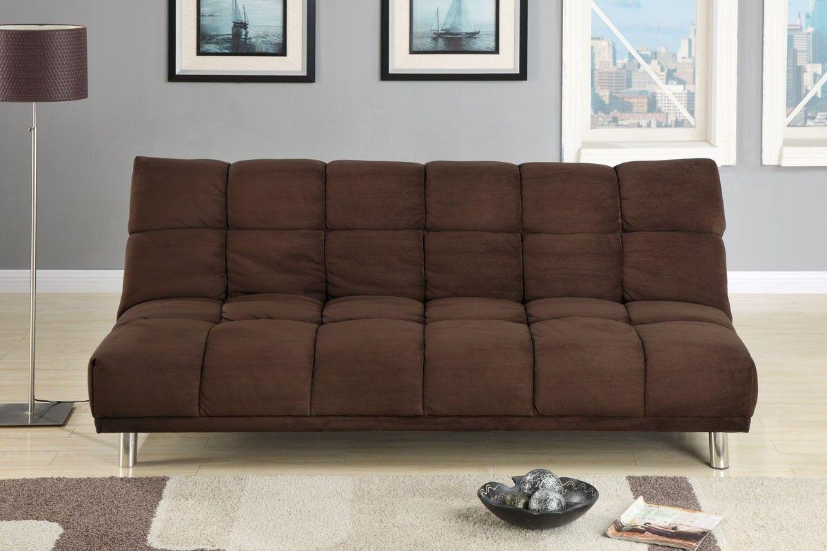 Chocolate Micro Fiber Adjustable Sofa | Products | Pinterest