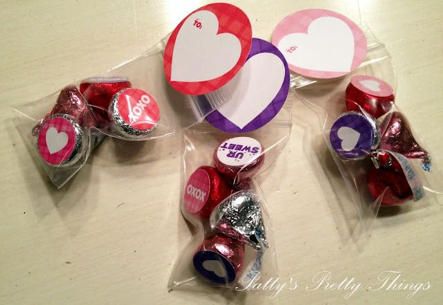 Another way to use candy kisses.