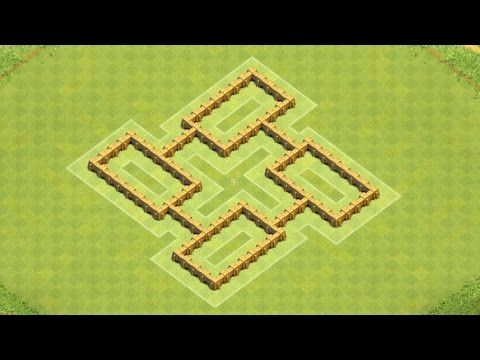 Clash Of Clans Town Hall 5 Defense Best Coc Th5 Hybrid Base Layout Defense Strategy Clash Of Clans Coc Clash Of Clans Clan
