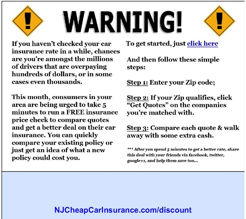 Stop Overpaying For Auto Insurance In New Jersey Visit To Enter