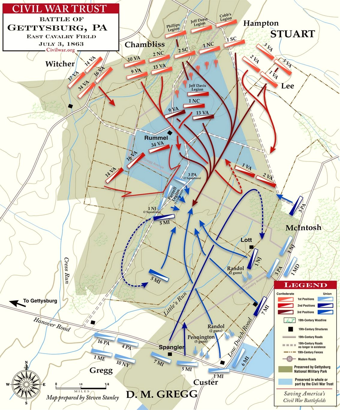 why was the battle of gettysburg Want the facts about the battle of gettysburg, the turning point in the american civil war learn about the battle, its outcome, and its significance.