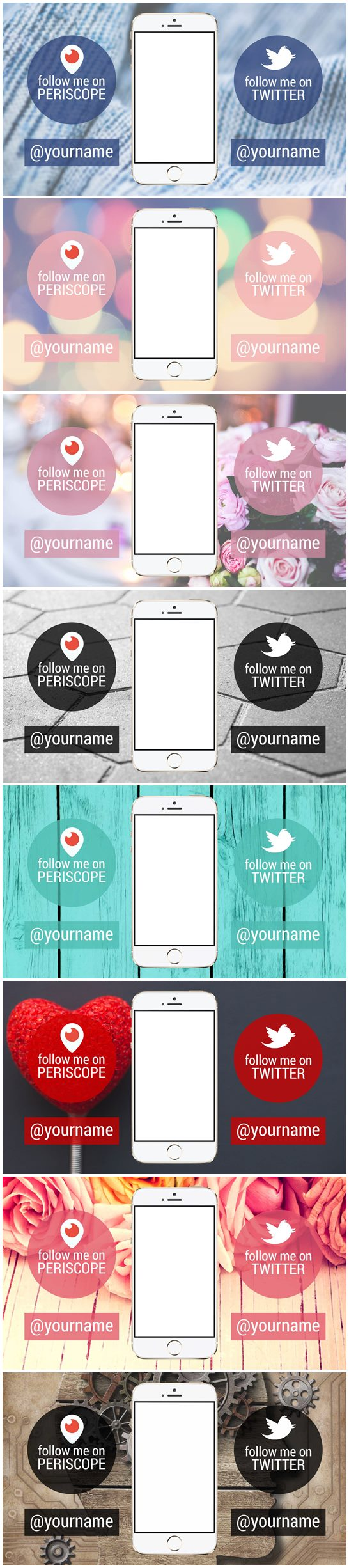 Youtube backgrounds for Periscope broadcasts. Only $5 >> http://bit.ly/katiep_periscope