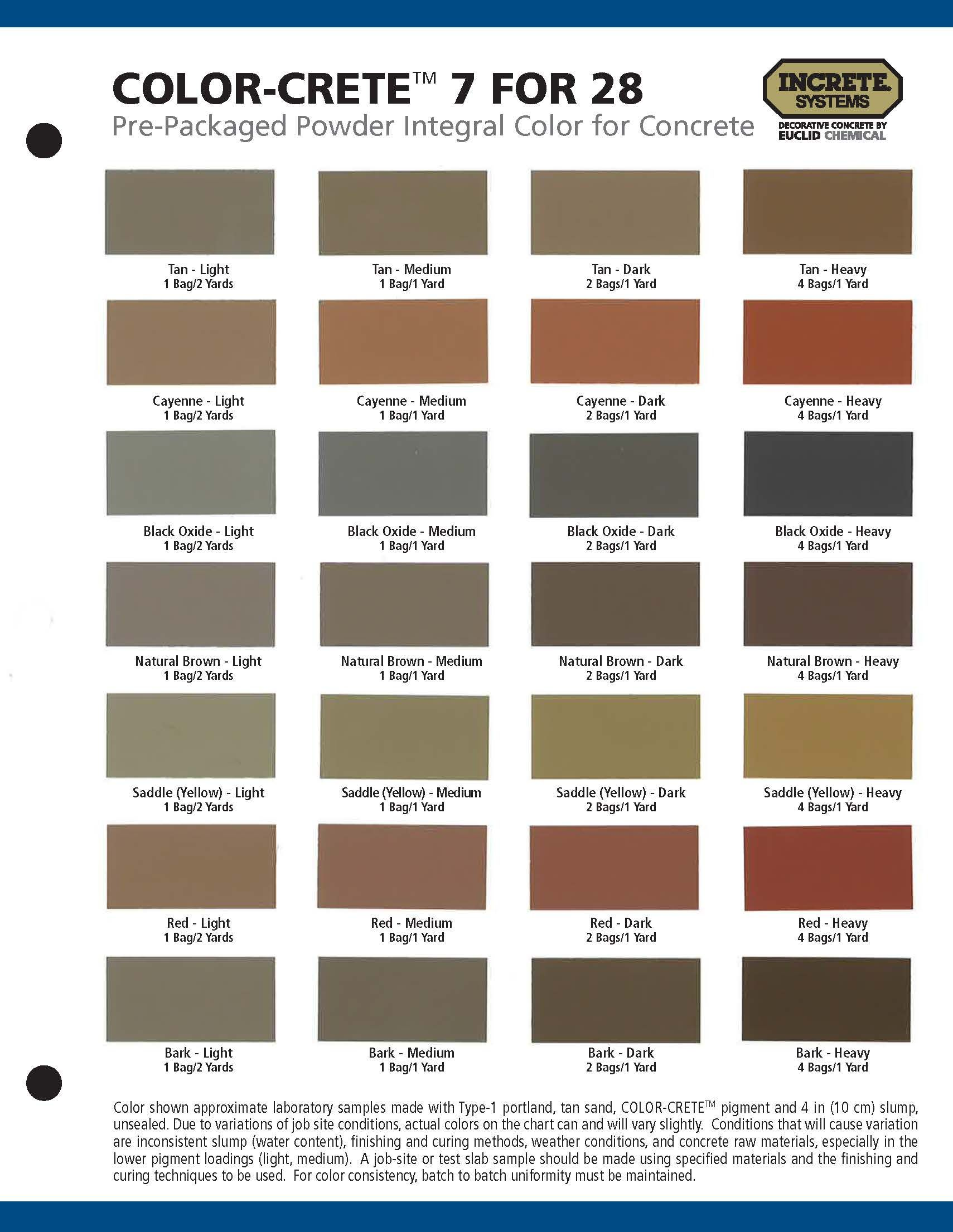 Pin by champion coatings on flooring system color charts colour chart charts graphics nvjuhfo Image collections