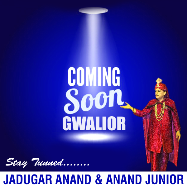 Jadugar Anand Anand Junior Coming Soon To The Royal Capital Gwalior Junior Anand Movie Posters