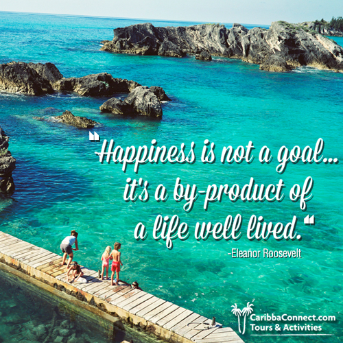 It's not how much we have, but how much we enjoy, that makes happiness.  #behappy #enjoyment #CaribbaConnect