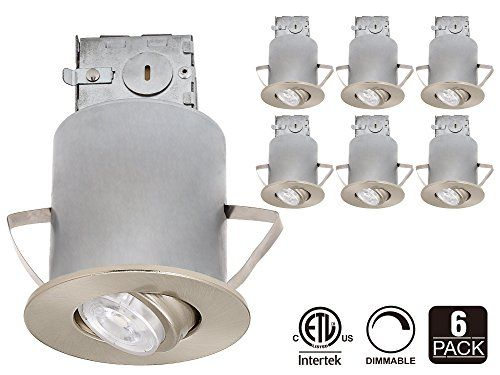 buy popular 85bbb ff422 Recessed Lighting Kit: 3-Inch ETL-listed Air Tight IC ...