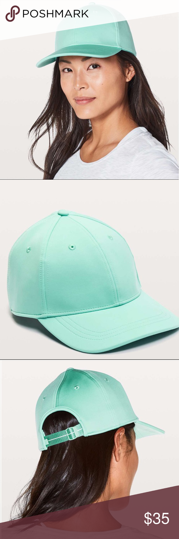 8c859a87 Lululemon Baller Hat in Washed Marsh Lululemon Baller Hat in Washed Marsh  We designed this breathable, wicking ball cap to take you from morning yoga  to ...